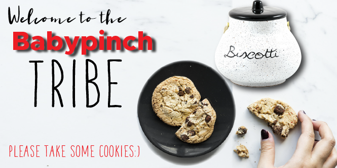 The cookies are in the cookie jar…of course;)