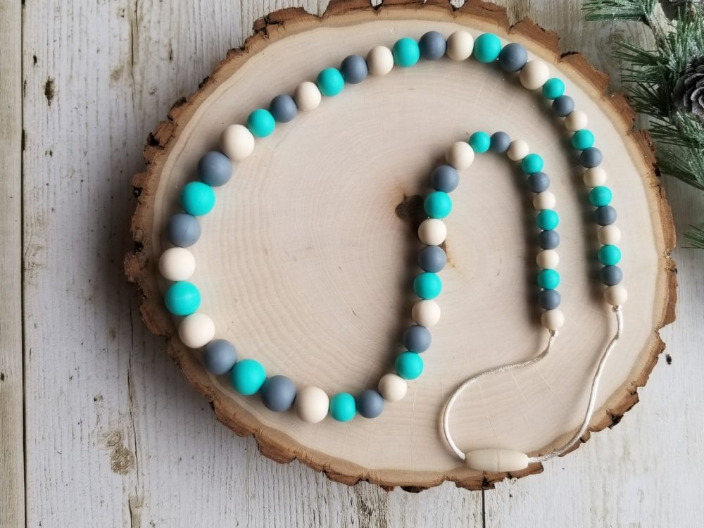 Baby Nursing Necklace for Teething Infants