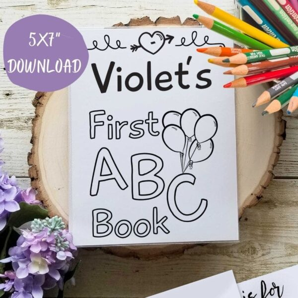 Template ABC Book