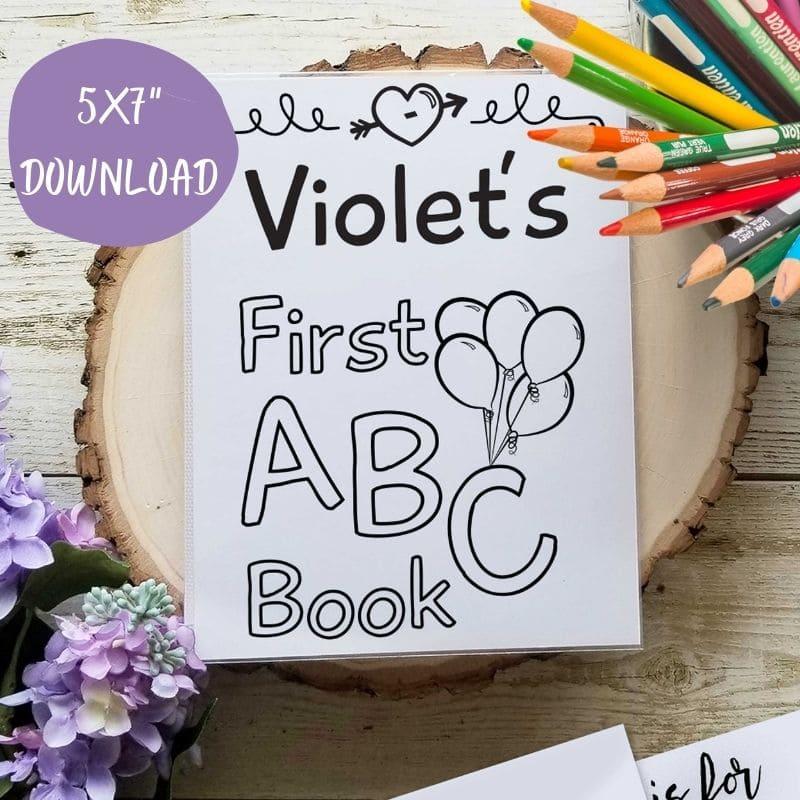 Template ABC Book