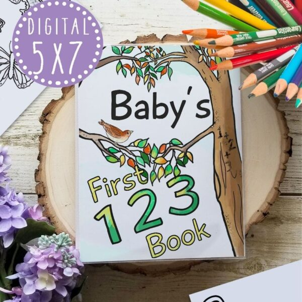 woodland numbers book
