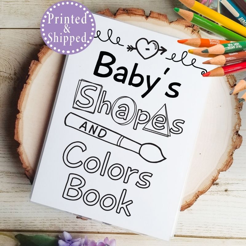 shapes and colors book