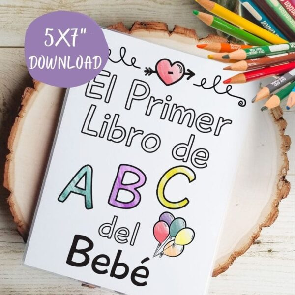 spanish abc book